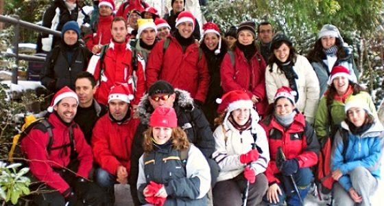 Senderismo ruta de Navidad excursion